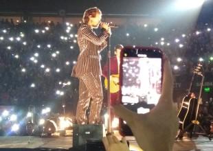 ¡Harry Styles la rompió en el DirecTV Arena!
