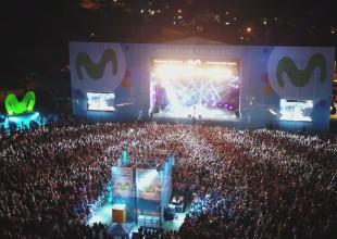 TINI brilló ante más de 25 mil personas en el Movistar Fri Music de Pinamar