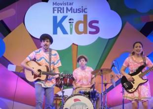 El MOVISTAR FRI MUSIC KIDS LLEGÓ A MILES DE CHICOS EN SUS CASAS
